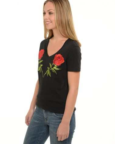Ladies V Neck Heaven Tee